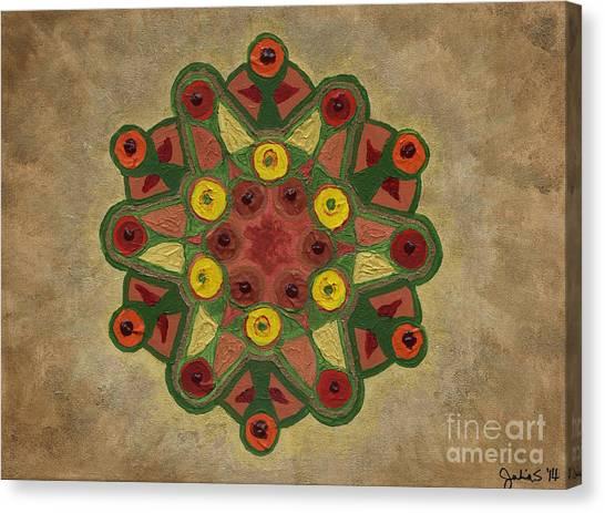 Mandala 2134 Canvas Print