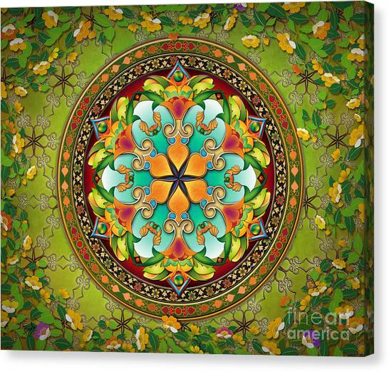 Mandala Evergreen Sp Canvas Print