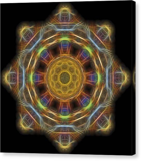 Mandala Of Light 1 Canvas Print
