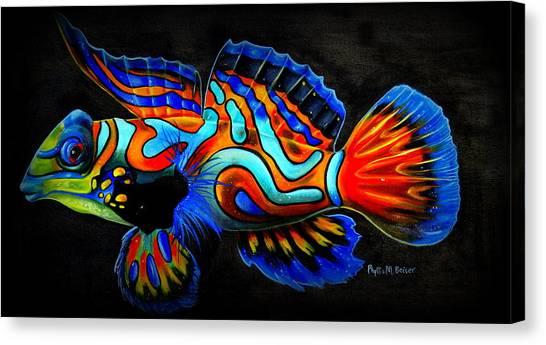 Mandarin Fish Canvas Print
