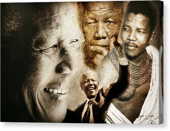 Mandela Journey Canvas Print