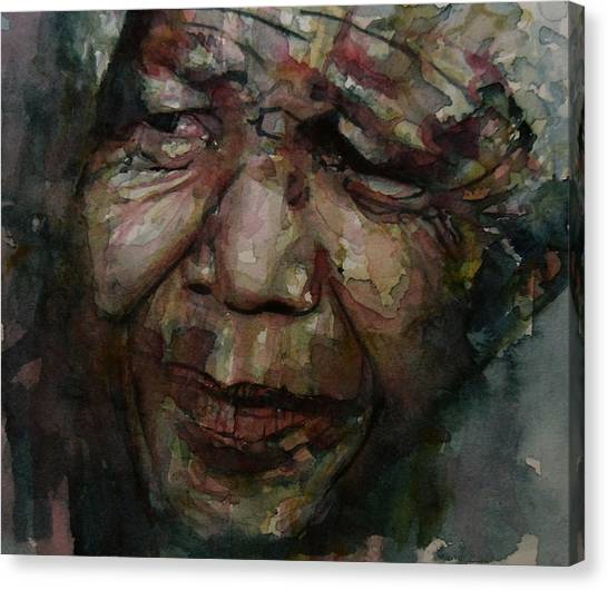 South Africa Canvas Print - Mandela   by Paul Lovering