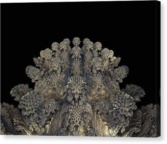 3d Visualization Canvas Print - Mandelbulb Fractal by Laguna Design/science Photo Library