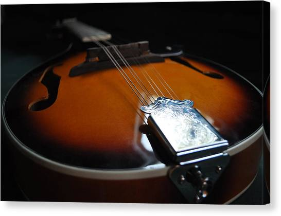 Mandolin Dreams Canvas Print