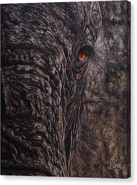 Big South Canvas Print - Manella by Luna