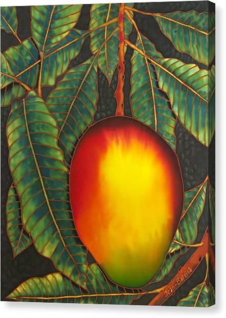 Mango Tree Canvas Print - Mango by Daniel Jean-Baptiste