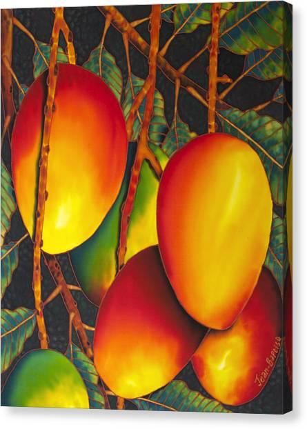 Mango Tree Canvas Print - Mangos by Daniel Jean-Baptiste
