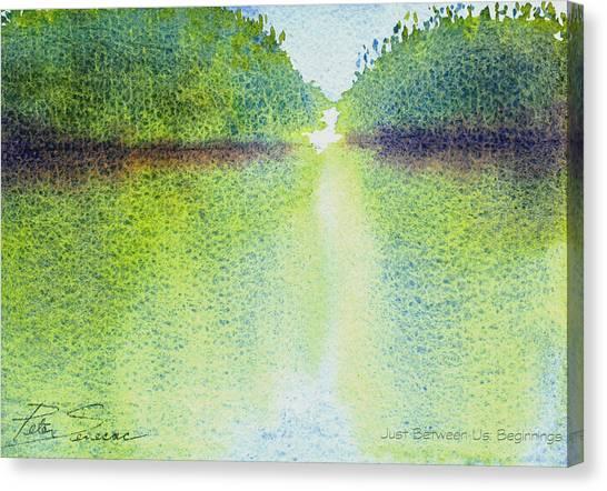 Mangrove Light #1 Canvas Print