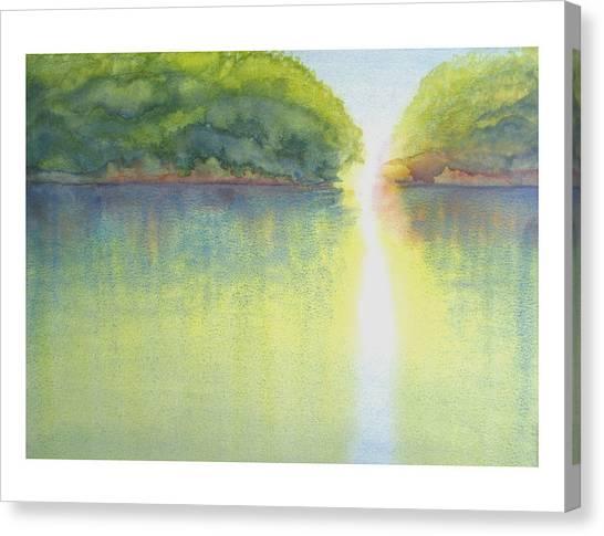 Mangrove Light Canvas Print