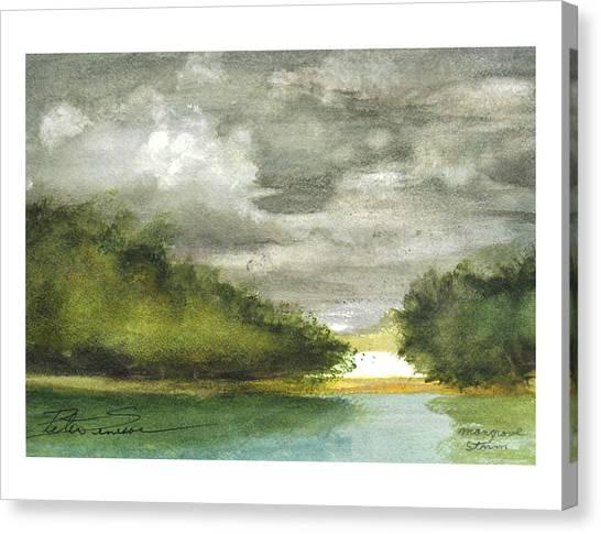 Mangrove Storm Canvas Print
