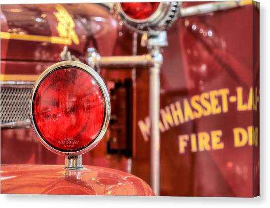Nyfd Canvas Print - Manhasset Lakeville Fd by JC Findley