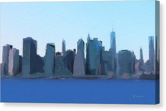 Manhattan 2014 Canvas Print