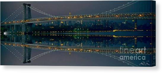 Manhattan Bridge New York Canvas Print