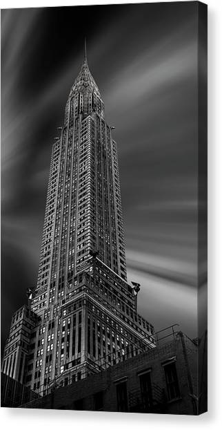 Chrysler Building Canvas Print - Manhattan (chrysler) by Martin Zalba