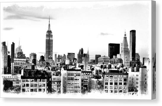 Manhattan  Canvas Print by Scott Snizek