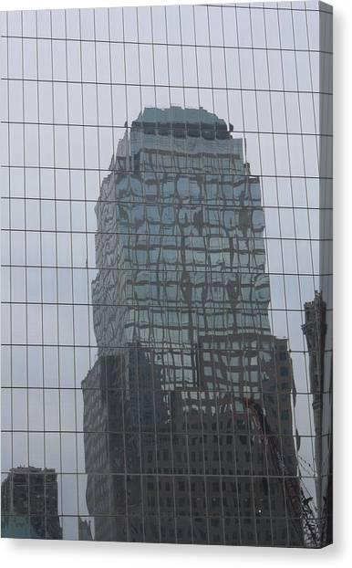 Manhattan Tower Canvas Print