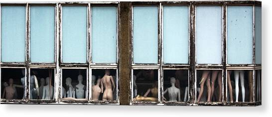 Conceptual Art Canvas Print - Mannequin Challenge ? by Jef Flour