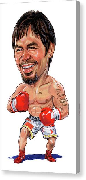 Manny Pacquiao Canvas Print - Manny Pacquiao by Art