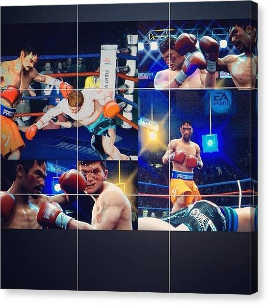 Manny Pacquiao Canvas Print - #manny #pacquiao #fight #filipinopride by Rene anthony Ninte