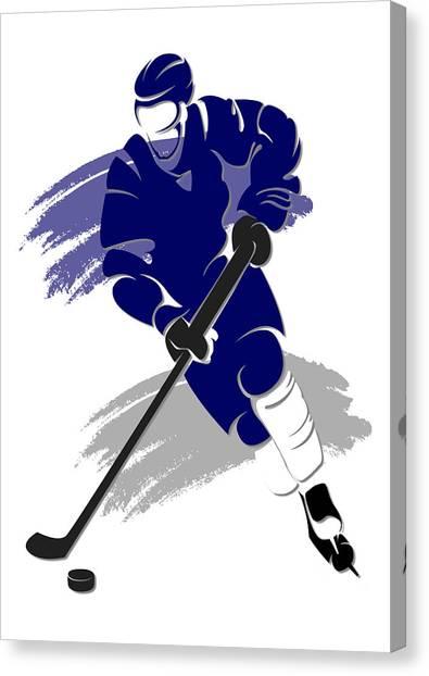 Toronto Maple Leafs Canvas Print - Maple Leafs Shadow Player2 by Joe Hamilton