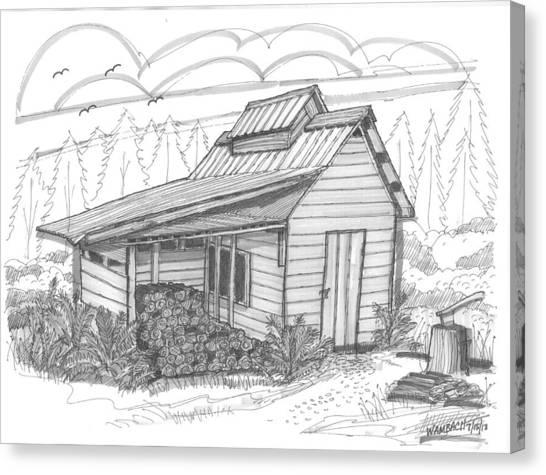 Maple Sugar House Canvas Print