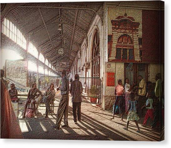 Maputo Railway Station Canvas Print