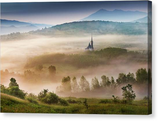 Rolling Hills Canvas Print - Maramures, A Fairy Land ! by Sorin Onisor
