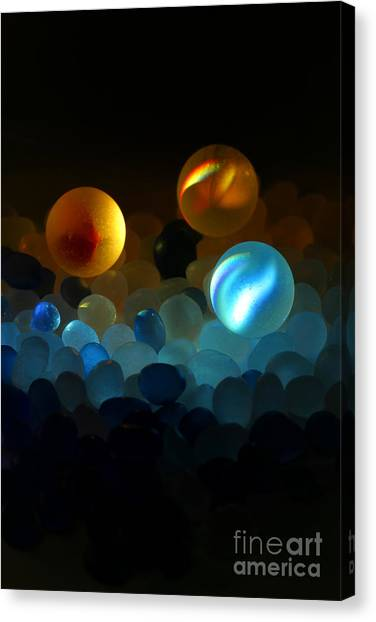 Marble-2 Canvas Print by Tad Kanazaki