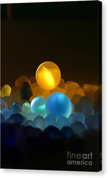 Marble-3 Canvas Print by Tad Kanazaki