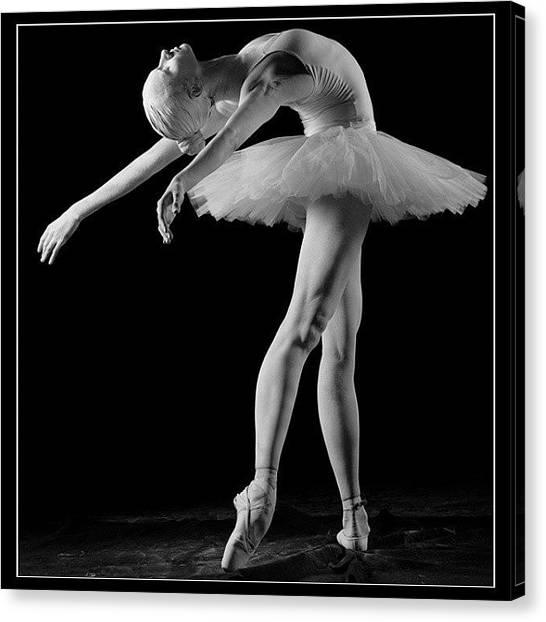 Ballerinas Canvas Print - Marble Ballerina, Studio Shoot#ballet by Marco Cappalunga