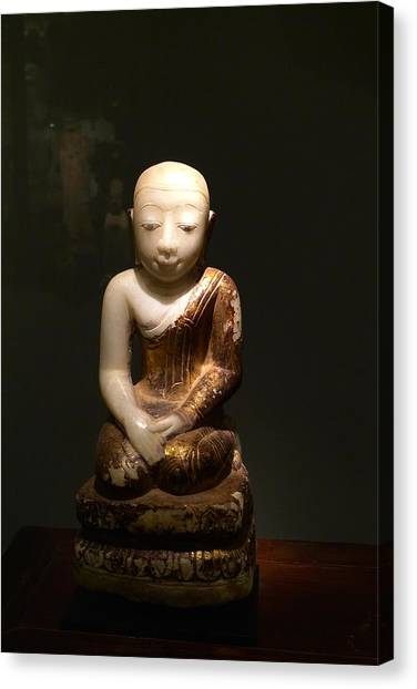 Buddhist Figure   Canvas Print