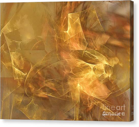 Marble Canvas Print by Leona Arsenault