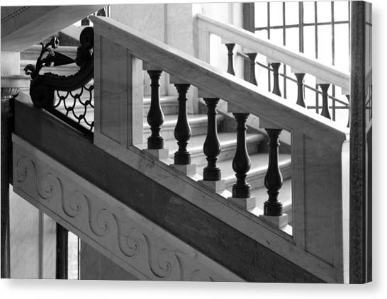 Marble Stair Canvas Print