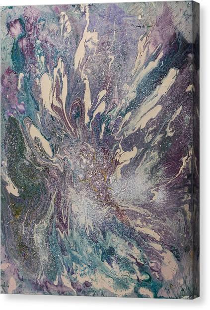Marbled Paisley I Canvas Print