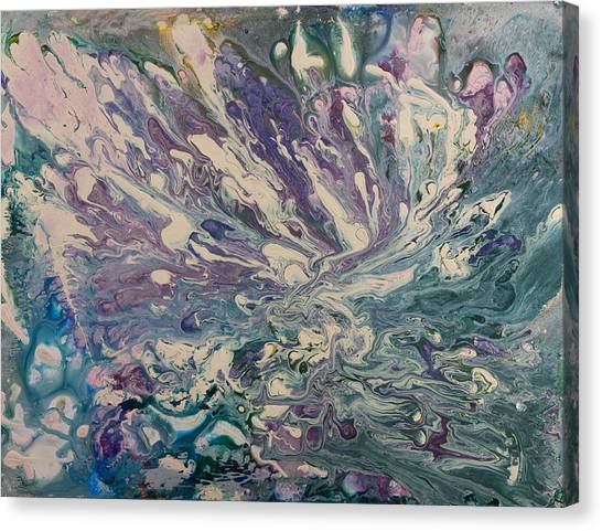 Marbled Paisley II Canvas Print