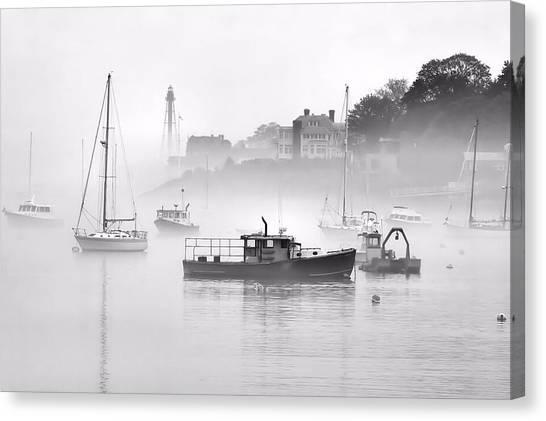 Marblehead Fog Canvas Print