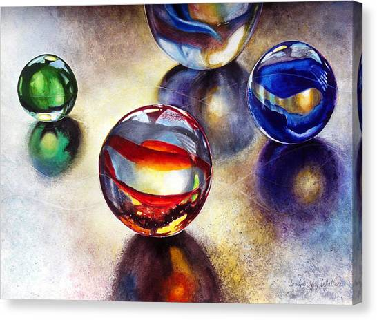 Marbles 2 Canvas Print