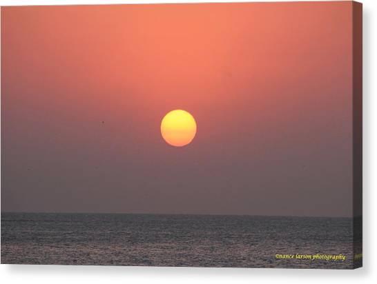 March Sunrise Canvas Print