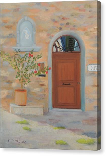 Marcialla Courtyard Canvas Print