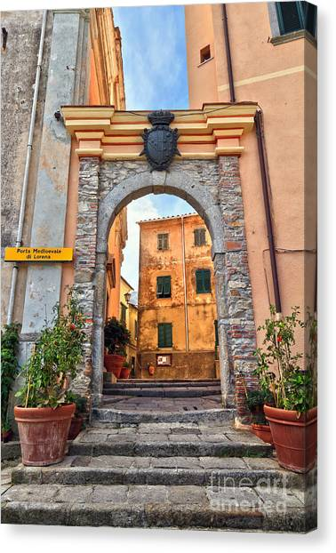 Marciana - Ancient Gate Canvas Print