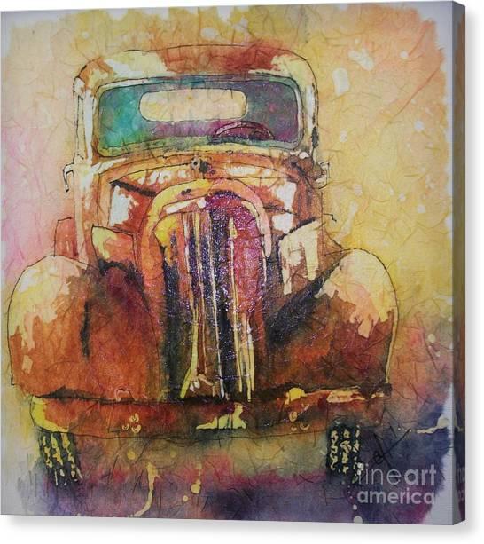 Marcias Truck Canvas Print