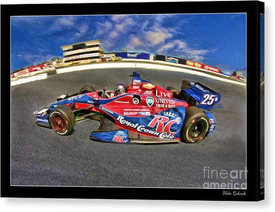 Marco Andretti Canvas Print - Marco Andretti by Blake Richards