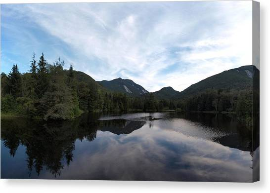 Marcy Dam Pond Canvas Print