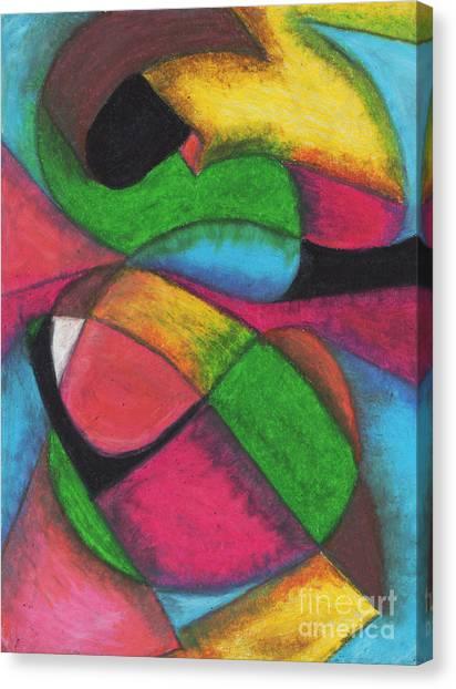 Mardi Gras Canvas Print by Ellen Howell