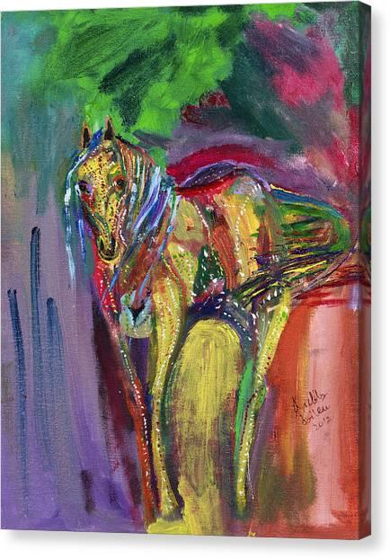 Mardigras Horse Canvas Print