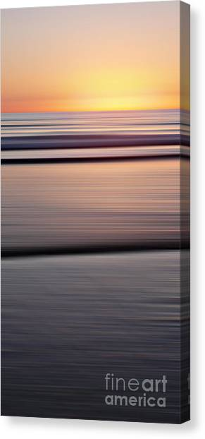 Sunset Horizon Canvas Print - Mare 137 by Steffi Louis