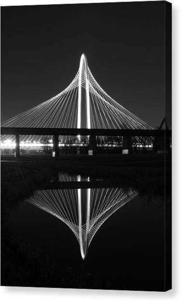 Margaret Hunt Hill Bridge Reflection Canvas Print