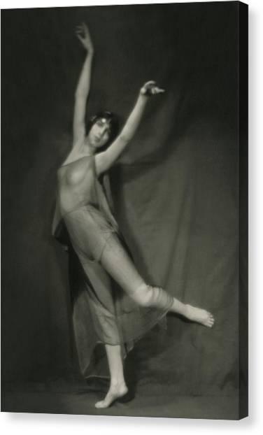 Follies Canvas Print - Margaret Severn Posing by Alexander Milne