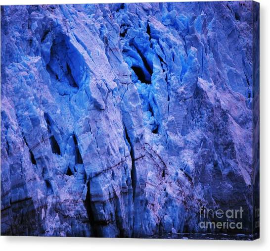 Margerie Glacier Canvas Print - Margerie Glacier 4 by Marcus Dagan