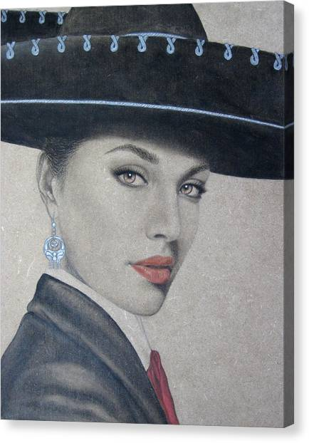 Mariachi Canvas Print
